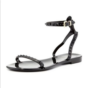 Valentino jelly rockstud sandals